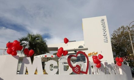 McDonald's festejó San Valentín