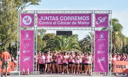 Más de 3000 mujeres se unieron para luchar contra el cáncer de mama