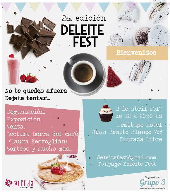 Próximo 2 de Abril se realizará la Segunda Edición del Salón Deleite Fest en Hotel Ermitage Montevideo