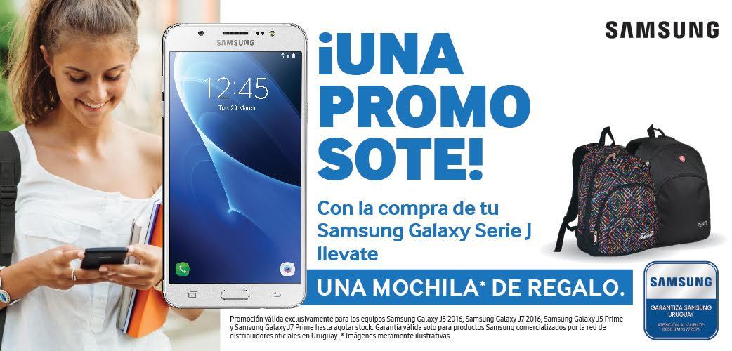 Samsung celebra la vuelta a clases con una promoción ideal para los chicos