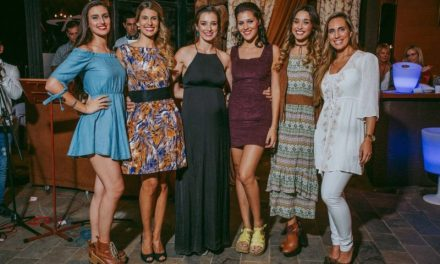 Seis ex Miss Uruguay juntas en Salto apoyando obra benéfica