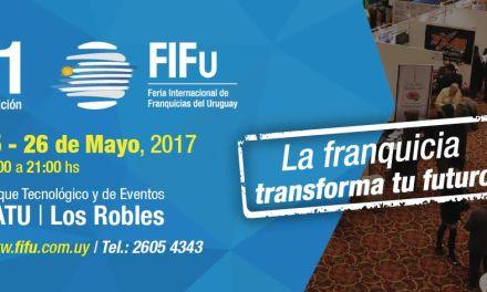 11va Feria Internacional de Franquicias del Uruguay – FIFU 2017