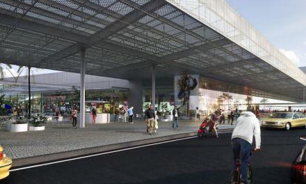 Avanzan obras de Río Branco Shopping y comenzó la comercialización de los locales