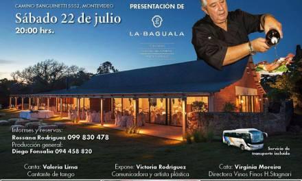 Sergio Puglia cocinará en vivo en una gran Cena Show en la Baguala – Consigue tu entrada –