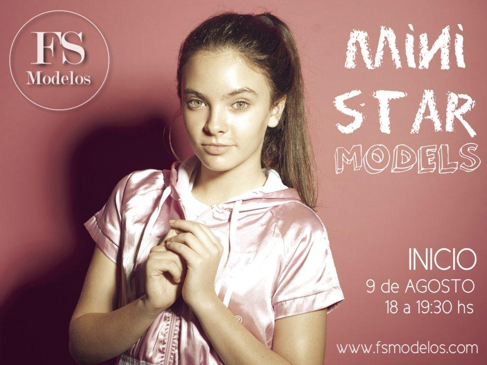 """FS Modelos incorpora nuevo curso """"Mini Star Models"""" para niños entre 5 y 11 años"""