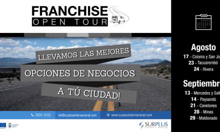 Comenzó el Franchise Open Tour, llevando negocios por 11 ciudades del Interior