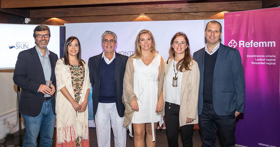 Refemm junto a Montevideo Skin presentaron el evento Medicina para una Mejor Calidad de Vida