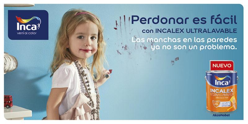Pinturas Inca lanzó un revolucionario producto que repele las manchas de las paredes