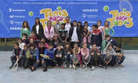 Devoto participó de la sexta temporada del programa Tenis Para Todos