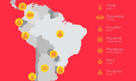 La pizza lidera el ranking de los platos más solicitados en América Latina