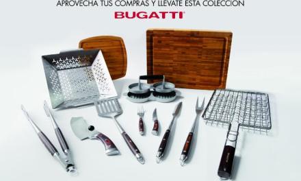 Tienda Inglesa transforma la parrilla de sus clientes con nueva colección de Bugatti