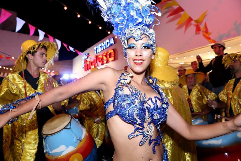 Tienda Inglesa celebró el Carnaval al ritmo del candombe