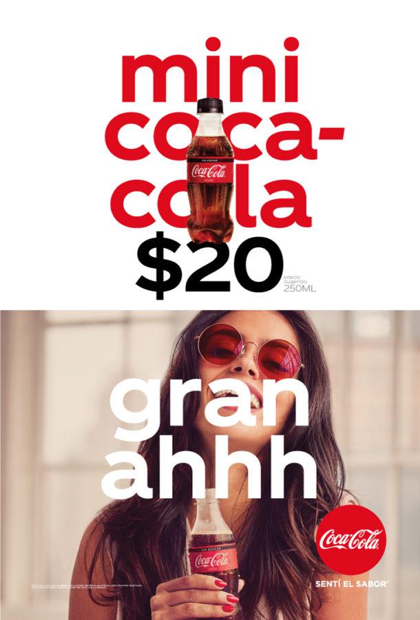Coca-Cola lanza campaña para impulsar sus envases pequeños y convenientes