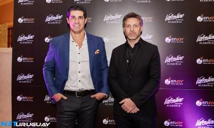 Valentino Bookings realizó el lanzamiento de su Academia en Enjoy Punta del Este
