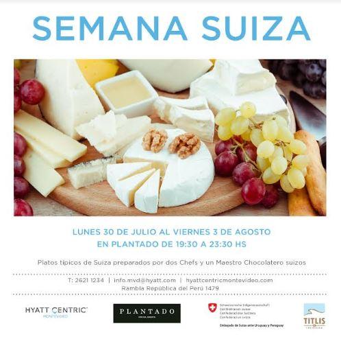 Semana Suiza en Hyatt Centric Montevideo