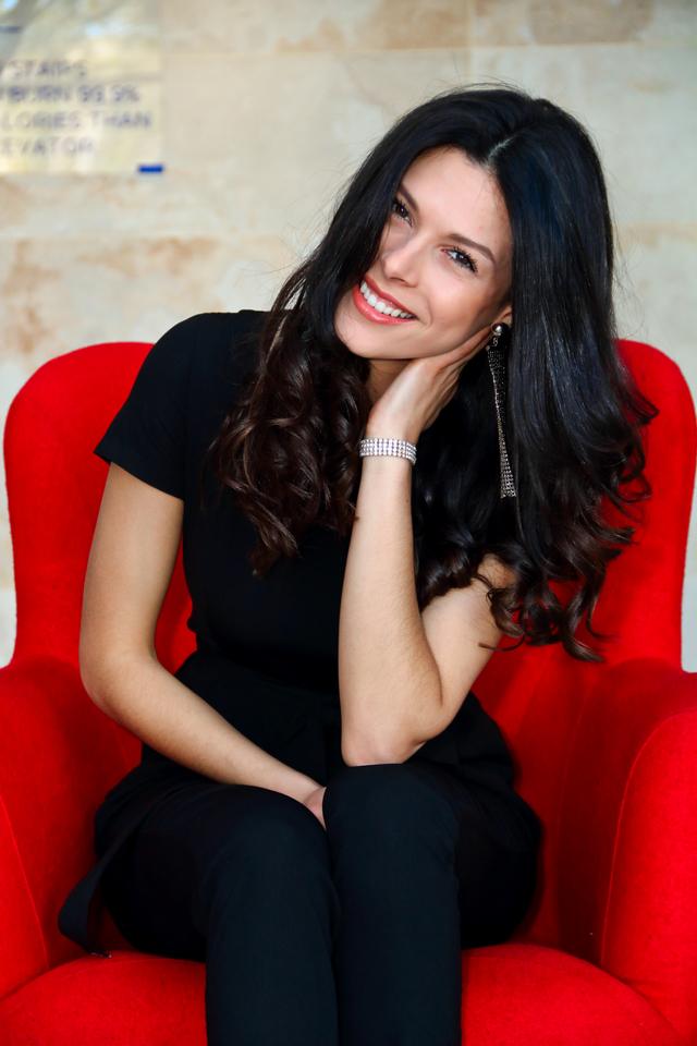 Roxanne Machin: la modelo canadiense que conquistó Uruguay
