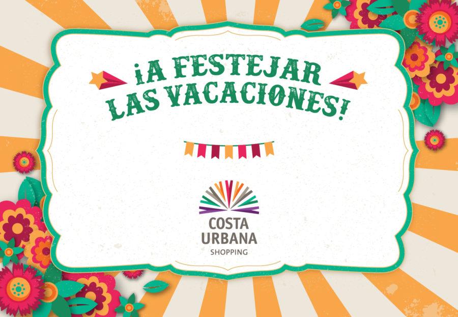 Costa Urbana Shopping invita a disfrutar las vacaciones con juegos de kermesse e inflables