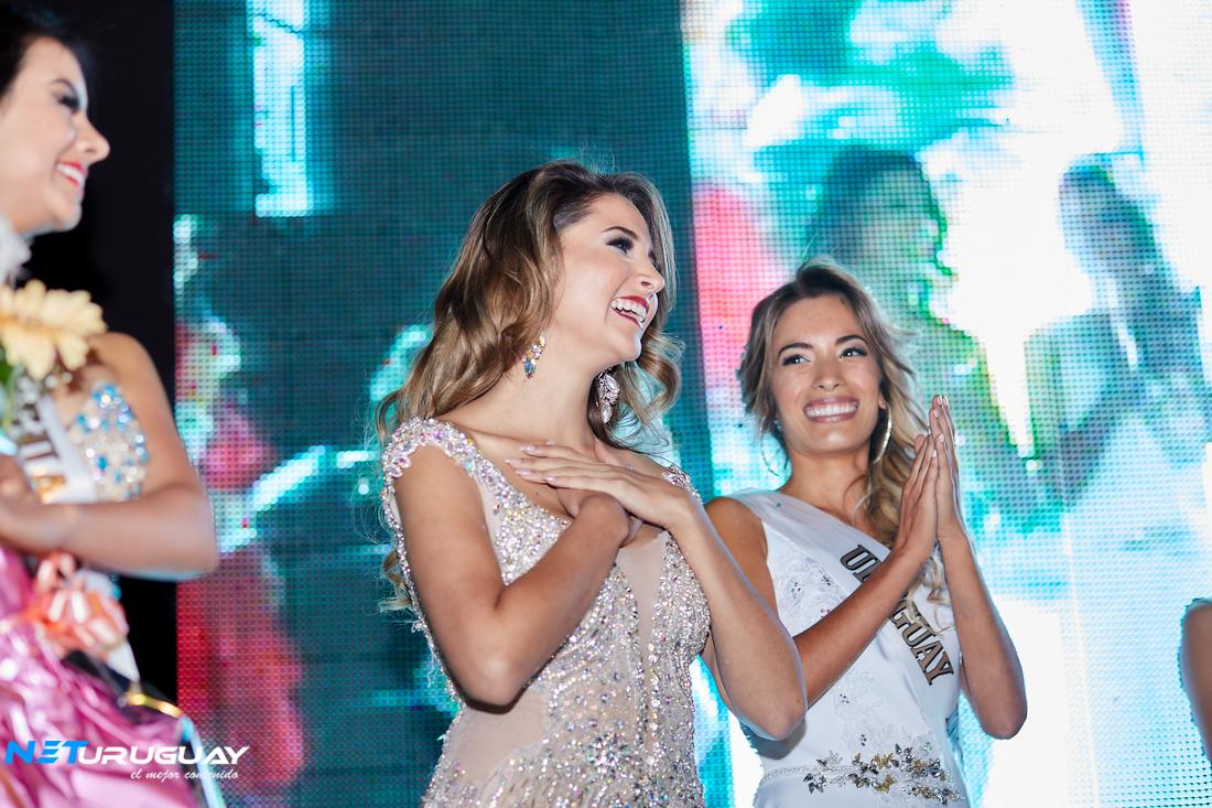 La peruana Estefanía Olcese fue coronada Miss Atlántico Internacional en Punta del Este