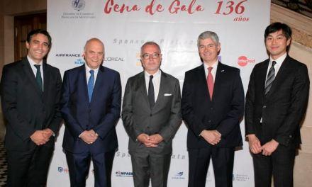 Cámara de Comercio Francesa celebró su gala de fin de año