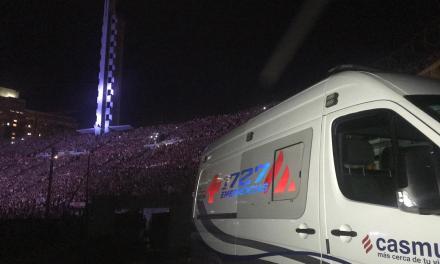 1727 Emergencias brinda atención en espectáculos internacionales como el show de Ed Sheeran