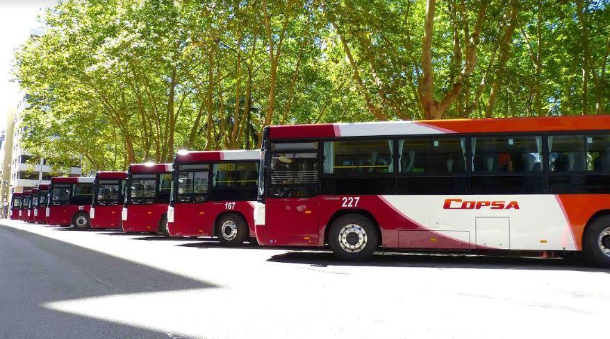 COPSA presentó junto al MTOP, 10 nuevos ómnibus para el transporte suburbano