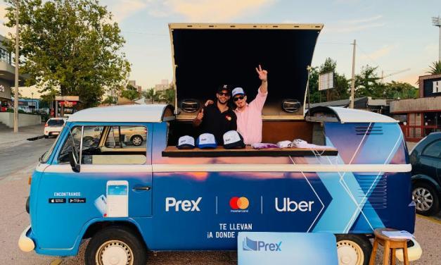 Uber y Prex se unen para brindar más opciones de pago a los usuarios de Montevideo