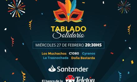 Santander promueve tablado solidario a beneficio de la Teletón