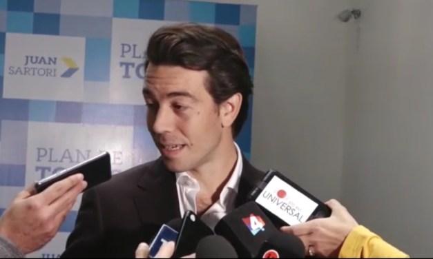 Sartori responde a las críticas de Danilo Astori y José Mujica en conferencia de prensa