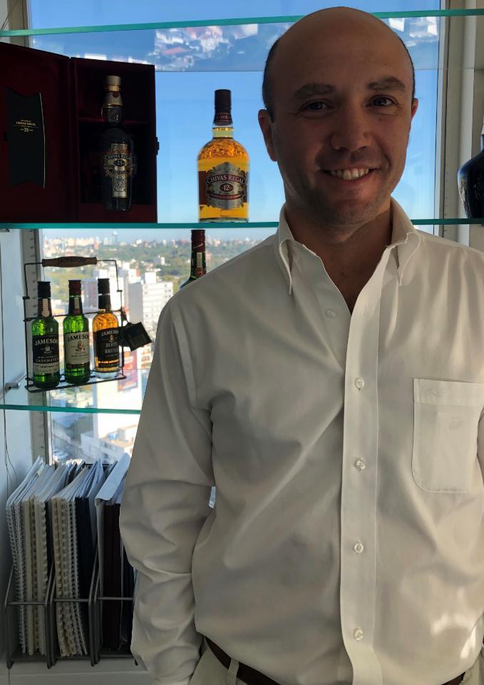 Pernod Ricard incorporó gerente de Ventas y Trade Marketing para Uruguay y Paraguay