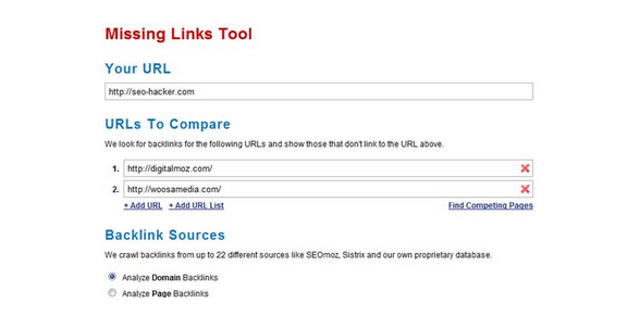 missing link tools
