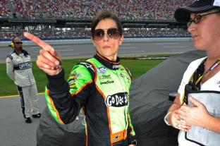 There are plenty of registrars besides Godaddy, but none of them have Danica's angry, raven-haired stare of death on their front page.