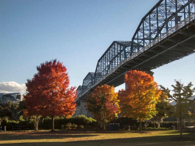 Chattanooga in the fall