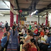 ~175 residents came to hear about 2 newly proposed transit oriented developments at a meeting June 14 at the Ethiopian Community Association.