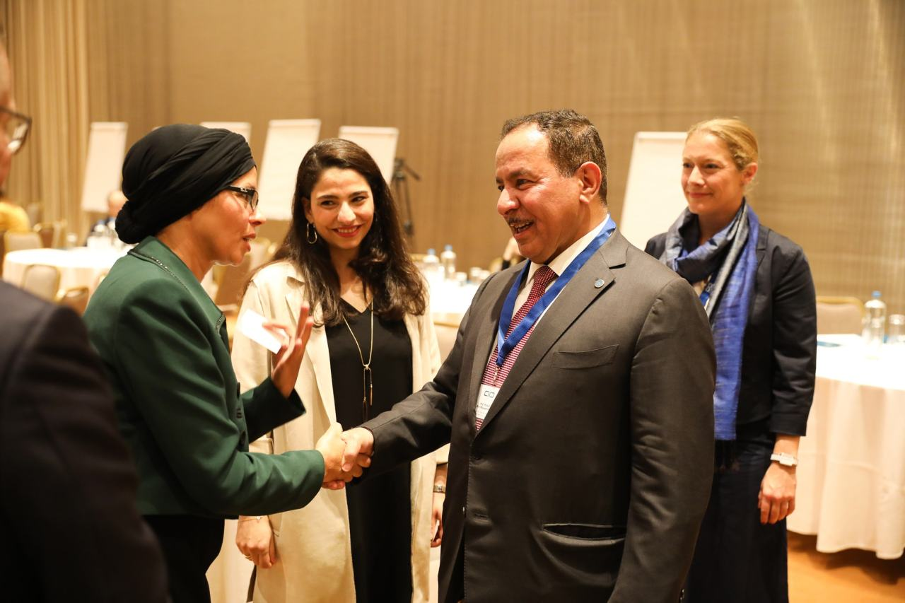H.E. Faisal Bin Muaammar, Secretary General of KAICIID with Network for Dialogue members in Athens, Greece - October 2019