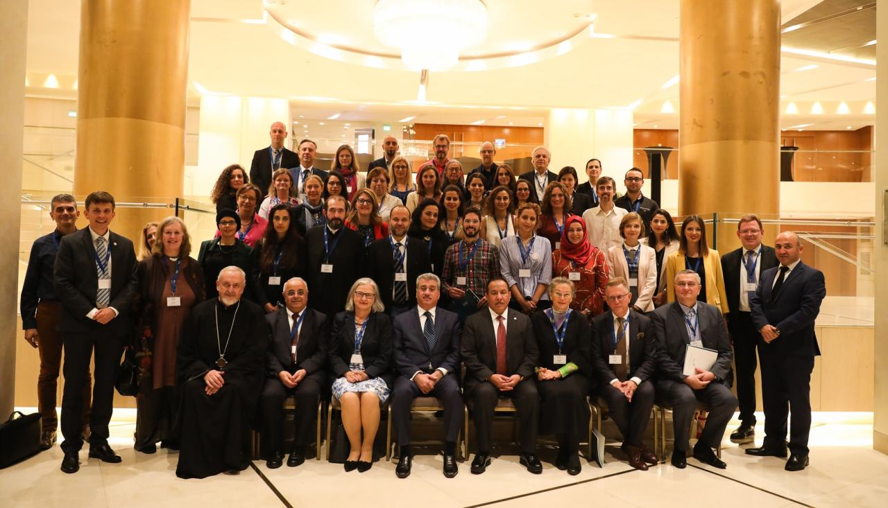Participants of the 1st European Policy Dialogue Forum, Athens, Greece - October 2019