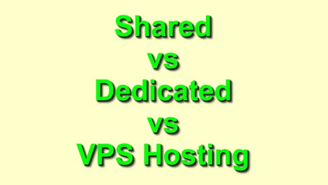 Shared dedicated and VSP Hosting