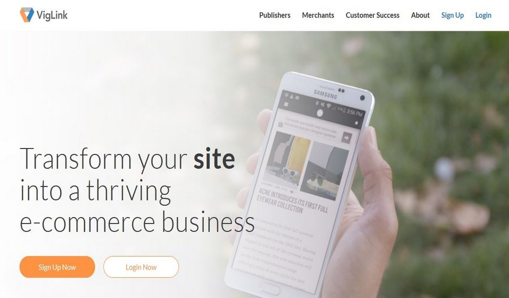 VigLink turns your site into an ecommerce business
