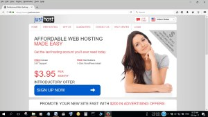 Affordable Hosting from Just Host