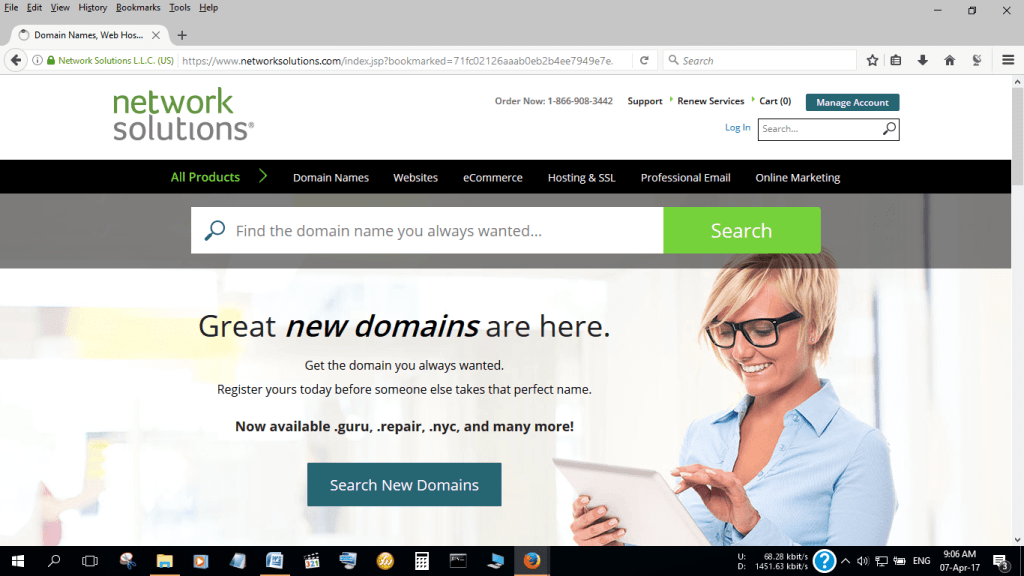 Network Solutions: Best Web Host with SEO