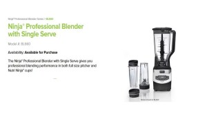 The Best Selling Blender on Amazon