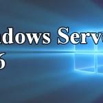 Premier article Windows Server 2016 (Contrôleur de domaine et Active Directory)