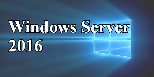 Premier article Windows Server 2016 (Contrôleur de domaine et Active Directory)