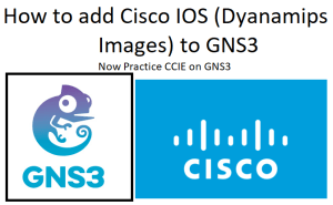 how to add cisco ios images to gns3