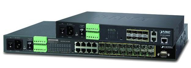 4Power switch METRO fibra-rame DI/DO