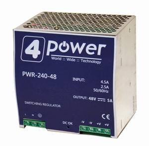 Immagine del 4N-pwr-240-48: Alimentatore industriale 48 VDC 240W