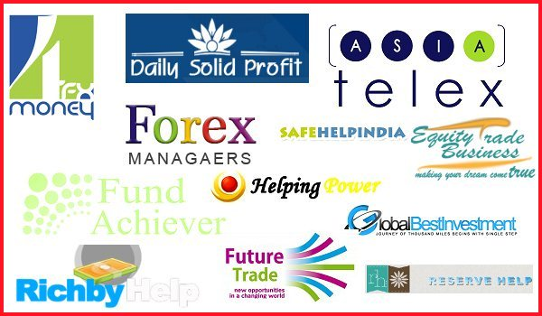 Beware Of These Dialy Frofit,Forex Scam & High-Yield Investment Program Companies