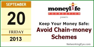 How to Keep Your Money Safe: Avoid Chain-money Schemes