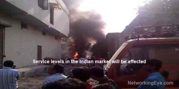 Oriflame India Warehouse destroyed by fire