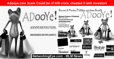 Adooye Scam Could be of 600 crore, cheated 2 lakh investors