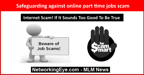 Safeguarding against online part time jobs scam